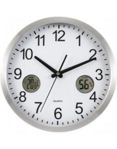 Reloj con Termometro de Pared