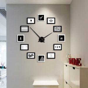 comprar reloj de pared con fotos, relojes de pared con fotos, tienda de relojes de pared