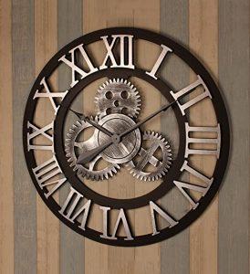 comprar reloj de pared industrial, relojes de pared industriales, relojes de pared con engranes, tienda de relojes de pared