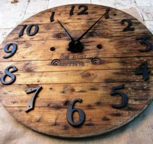 Reloj de Pared Rustico
