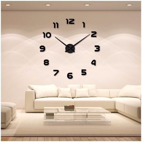relojes de pared adhesivos, comprar un reloj de pared adhesivo, relojes adhesivos para salón