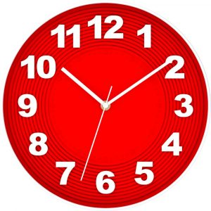 Relojes de Pared Rojos