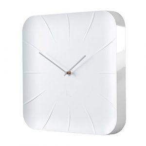 Sigel Reloj de Pared de diseño, Color Blanco