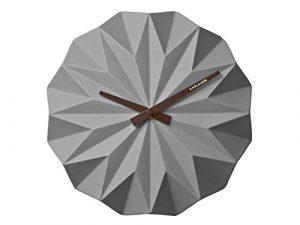 Karlsson - Reloj de Pared (cerámica, Talla única), Color Gris