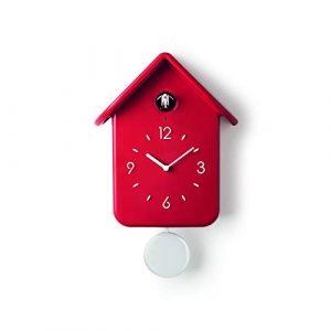 Guzzini Reloj QQ \'Home\' 24.8 x 12 x h39 cm, Rojo, One Size