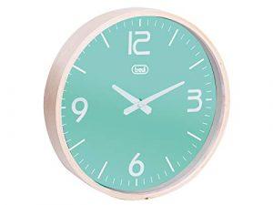 Trevi OM 3311 L Mechanical Wall Clock Círculo Turquesa - Reloj de Par