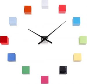 Karlsson - Reloj de Pared, Multicolor, Talla única