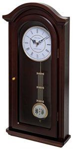 Fox and Simpson Reloj de péndulo Burnley, campanillas de Westminster,