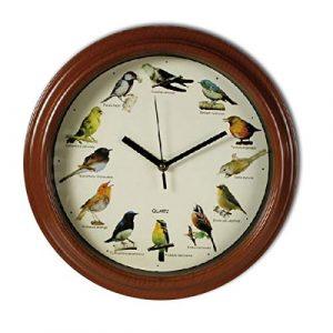 pájaros reloj de pared melodía musical