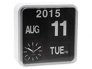 Karlsson - Reloj de Paletas de Pared Pequeño con Función de Calendar