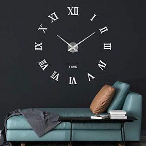 SOLEDI Reloj de Pared 3D, DIY Reloj de Etiqueta de Pared Decoraci¨®n