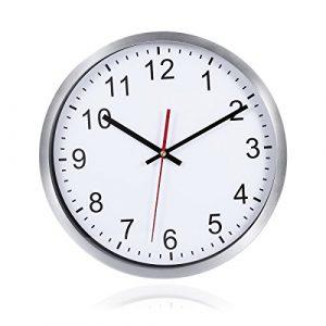 WINOMO Relojes de Pared Silencioso Grandes Originales Cocina Decorativ