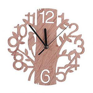 Reloj de Pared de Moda en Forma de árbol DIY Reloj de Pared Creativo