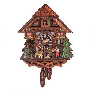 JUMI - Reloj de Cuco magnético para Nevera, Suizo, 11 cm x 7 cm, con