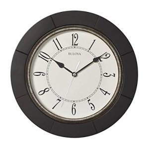Bulova Deco 12 en. Reloj de pared
