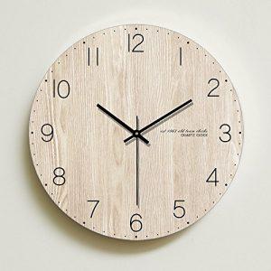 Wall clock Reloj de Madera Reloj Redondo Sala de Estar Dormitorio sile