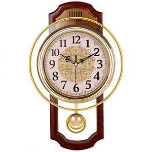 Nclon Europeo Reloj de Pared,Silencioso sin Ruidos Creativo Sala de Es