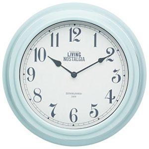 Kitchen Craft 25,5 cm Living Nostalgia Reloj de Pared para Interiores,