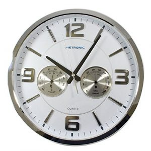 Metronic 477327 - Reloj de Pared Celsius, Moderno, Movimiento de Cuarz