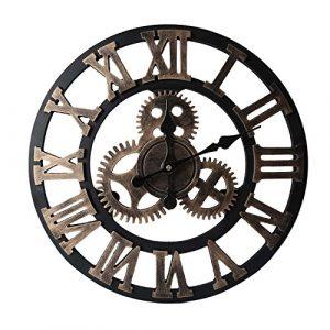 reloj de pared industrial relojes de pared industriales, reloj de engranajes de pared, reloj de pared con engranajes a la vista