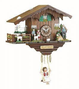 Trenkle Kuckulino Reloj en Miniatura de la Selva Negra casa Suiza Cuar