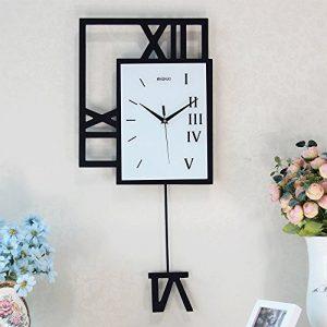 Reloj de pared creativo de madera para el reloj de péndulo de la sala