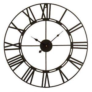 Reloj de Pared de 60cm de diámetro con números Romanos. Estructura m
