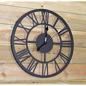 reloj de pared industrial relojes de pared industriales grandes, reloj pared engranajes visibles