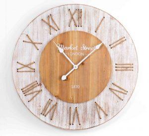 reloj de pared de madera relojes de pared de madera