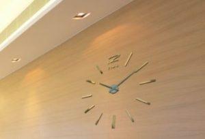 relojes de pared sin marco, comprar un reloj de pared sin marco